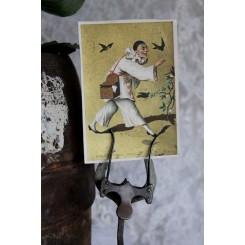 2 x kort PJERROT [1880/90]
