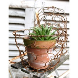 Fil de Fer plantekurv/Spirekurv | Pr. stk