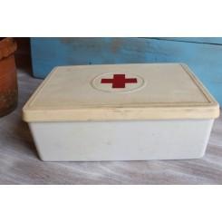 Røde Kors Førstehjælpeskasse m/ indhold