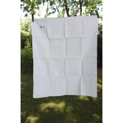 Fransk Håndklæde/Viskestykke m. Monogram [BL]