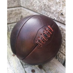 Vintage Basketball [Håndsyet Læder]