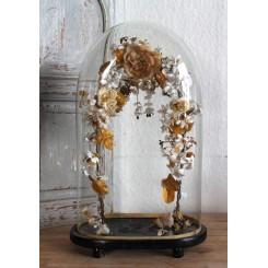 BRUDEGLOBE [H43cm] Med Blomsterbue