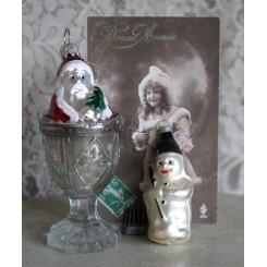 Julekugler Julepynt Glas JULEMAND