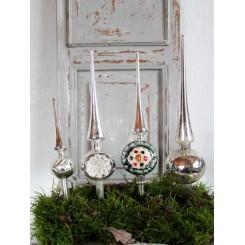 Gl Juletræs Spir [Sølv] |Pr. stk