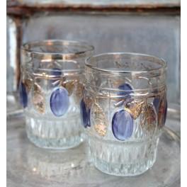 Souvenir-Glas Guld/Emalje |Pr. stk ~1920