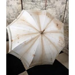 Fransk Vintage Sol Parasol [L82,5 cm] M. Benknop