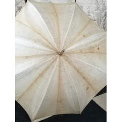 Fransk Vintage Sol Parasol [L85 cm] M. Broderi