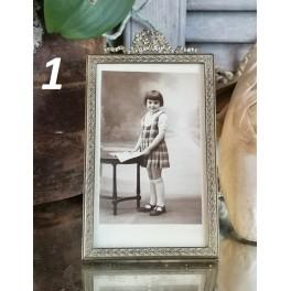Gl. Fotoramme m. Sløjfe [16,5x9,5cm] | Pr stk