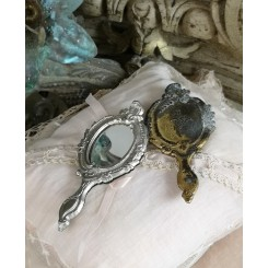 Lille Spejl Håndspejl Boudoir||Pr. stk